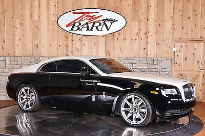 2014 Rolls-Royce Other Wraith Wraith Low 11k mi Drivers assist Night Vision Head-up Starlight $360k MSRP Black