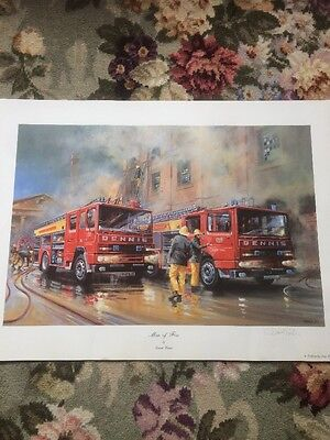 Men of Fire Fine Art Print Signed By D Weston