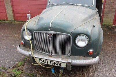 Rover P4 60 - 1955 Restoration Project