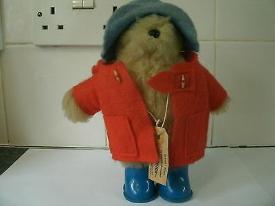 "1977 Beanie Gabrielle Design Paddington Bear With Tag 8"" Adorable Complete Rare"