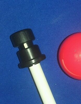 Porper Tip Clamp pool snooker cue perfect tip alignment whilst gluing. NEW
