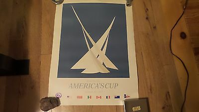 Posters America's Cup Newport RI  1983 by R. Hitton Brown