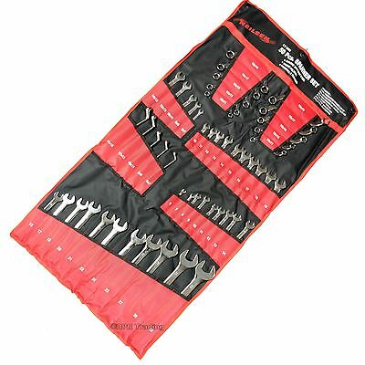 Neilsen 50pc large Metric Combination Spanner Set 6mm-32mm stubby  C S type