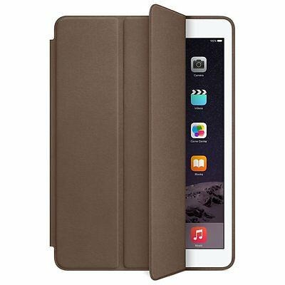Apple® - Smart Case for Apple iPad® Air 2 - Olive Brown MGTR2ZM/A **BRAND NEW**