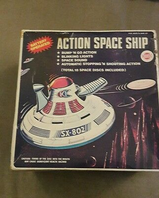 Vintage Walbro action space ship 1970s