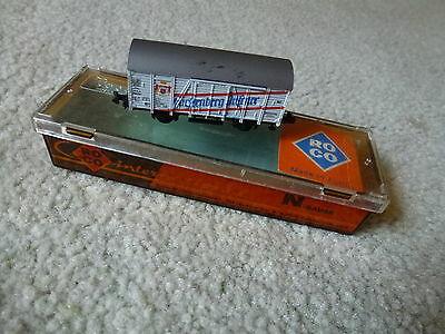 ROCO N scale beer wagon Boxed