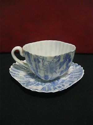 Vintage/antique Blue And White Japanese/oriental Cup And Saucer.