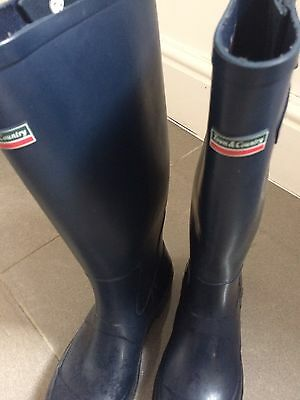 Men's Navy Blue Town And Country Wellies Size 7