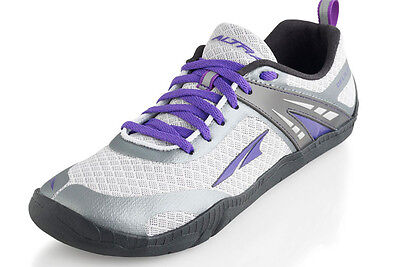 Altra Delilah Womens Running Shoes Silver/Purple