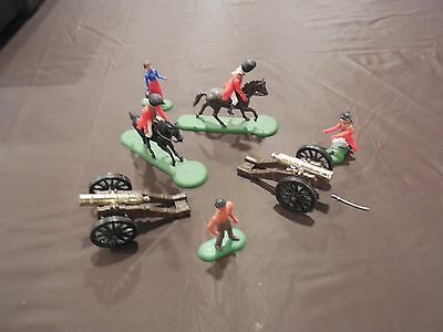 Revolutionary War Soldiers Molly Pitcher Red Coats Action Figure Toy Lot of 9