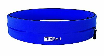 FlipBelt Running/Workout/Fitness Belt w/ Pockets for Phone/Keys, Royal Blue, New