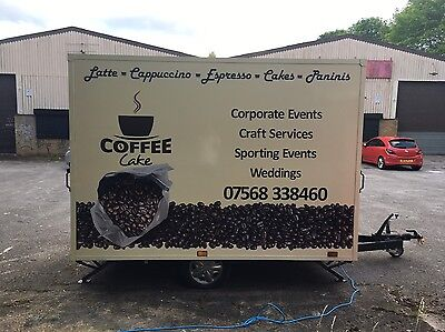 Coffee Trailer 10ft x 7ft Fully Kitted Out And Ready To Trade!!