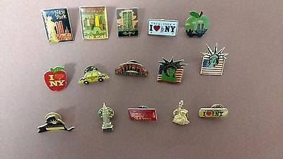 New York City. Pins