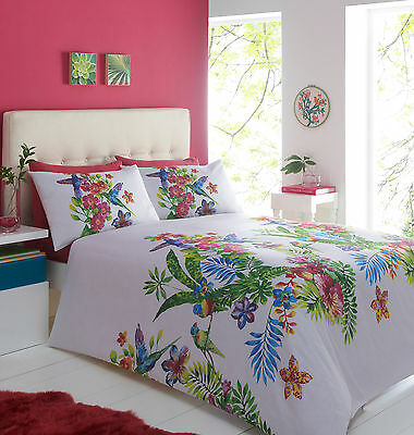 Duvet Quilt Cover with Pillowcases Bedding Set Size King Design ADORA