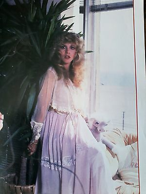 Stevie Nicks Fleetwood Mac Single Page Picture Music Book 27x19cm