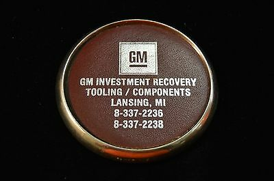 Vintage General Motors GM Investment Recovery Tooling Components Coaster Lansing