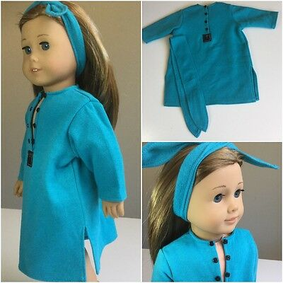 """Authentic American Girl 18"""" Doll Clothes Sleep Shirt Fit Our Generation"""