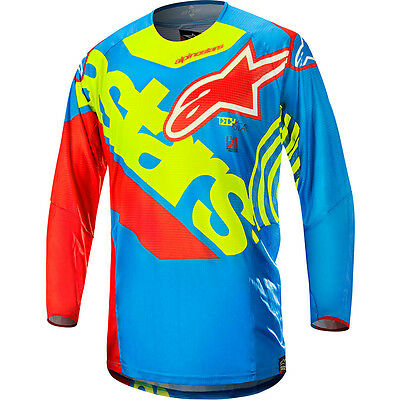 Fox 14 HC Radeon Youth Jersey Red Yellow MX Motocross Sport Off Road Dirt Bike