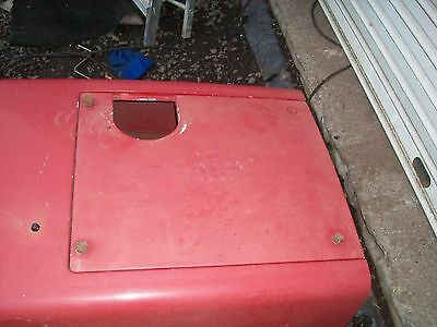case tractor bonnet 40 series battery cover
