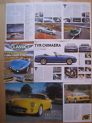TVR Chimaera Buying Guide, Cerbera Tuscan SE 1967 Griffith 500 & 4.0 etc Reports
