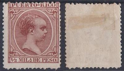 *puerto Rico*   King Alfonso Xii,  M/h