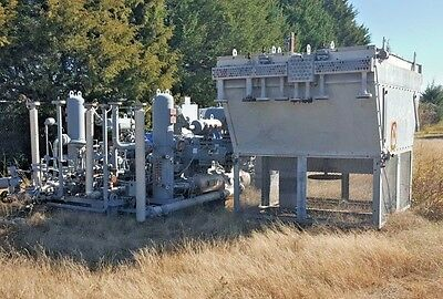 400Hp Dresser Rand Natural Gas Compressor  3 stage VIP 5CVIP4