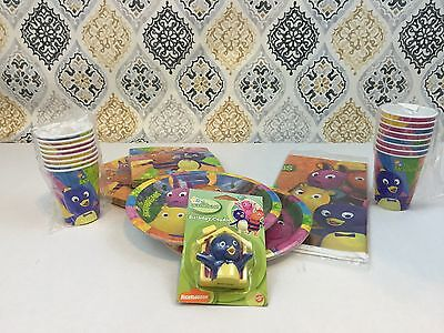 Backyardigans Birthday Party Supply Lot for 16 Officially Licensed Tableware