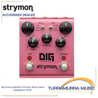Strymon DIG Dual Digital Delay Guitar Effects FX Pedal