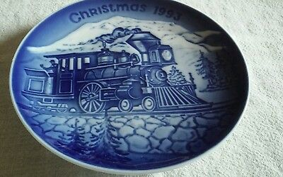 Bing and Grondahl Copenhagen 1993 Christmas plate