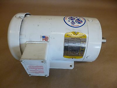 Baldor Cwdm3555T 2Hp Electric Washdown Motor 3Ph 60Hz 3450 Rpm 208-230/460V