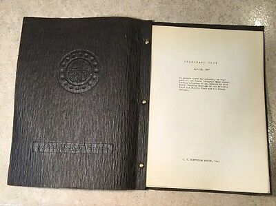 U.S. Electrical Motors Telegraph Code Book for Ordering and Shipping DATED 1937