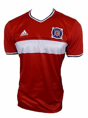 Adidas Chicago Fire Jersey MLS Size L New