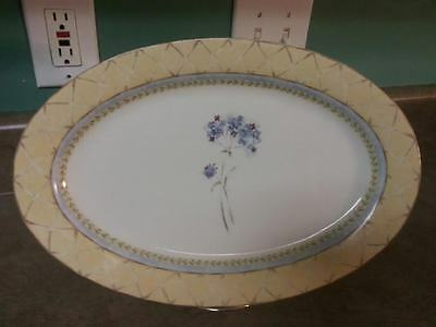 14'' Oval Enchanted Garden Fine China- Heritage Mint - Platter