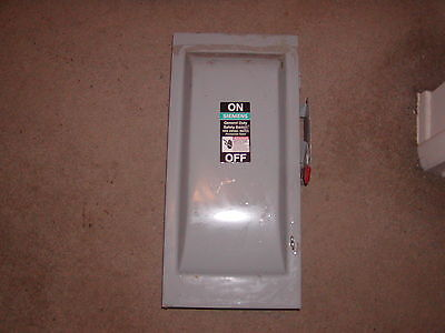 SIEMENS GF323N Safety Switch,Fusible,100A,240VAC,3PH