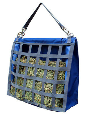CARIBU Slow Feeder Hay Bag. Robust Construction.  Holds 2 Biscuits