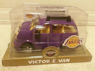 SPORTS EDITION chevron cars lakers Victor E. Van NEW