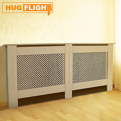 Specials Premium Radiator Cover Cabinet Unpainted MDF Wood X-Large Size