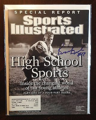 Brian Brohm Autographed Signed Sports Illustrated SI Magazine Louisville Cards