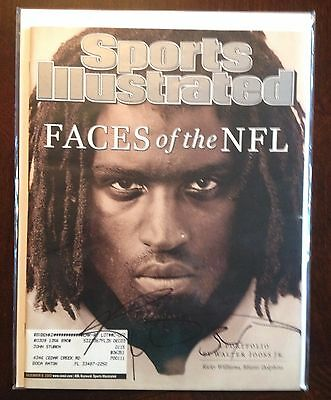 Ricky Williams Miami Dolphins Autographed 12/9/02 Sports Illustrated SI Magazine