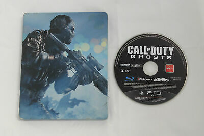 CALL OF DUTY GHOSTS in METAL CASE Playstation 3 PS3 Game PAL