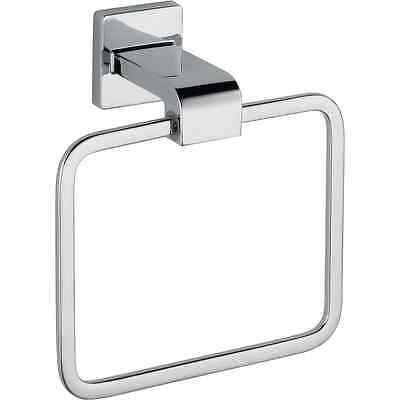 Delta Faucet 77546 Ara Towel Ring, Polished Chrome