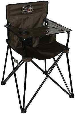 Ciao! Baby Portable High Chair, Chocolate with Carrying Case, 1-Pack