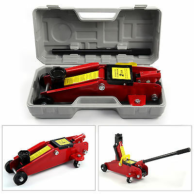 2 Ton Hydraulic Trolley Floor Jack Car Van Garage 2000kg Lift TUV CE