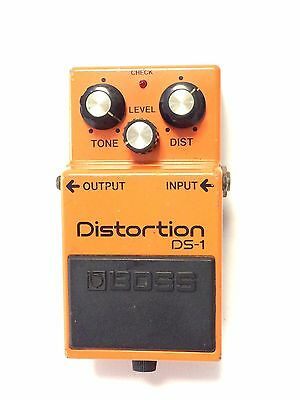 Boss DS-1, Distortion, Made In Japan, 1984, Guitar Effect Pedal