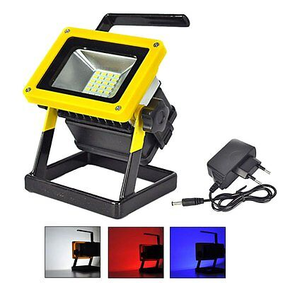 24 LED 5730 Rechargeable Portable Outdoor Camping LED Flood Light Spot Work Lamp
