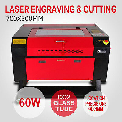 High Precise 60w CO2 Laser Engraving Cutting Machine Engraver Cutter LCD Display