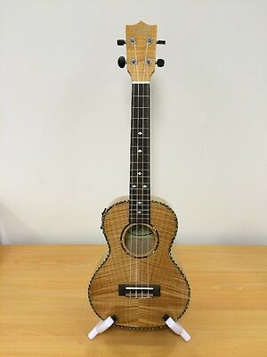 Tribute UK10TEQ tenor ukelele with inbuilt preamp and tuner