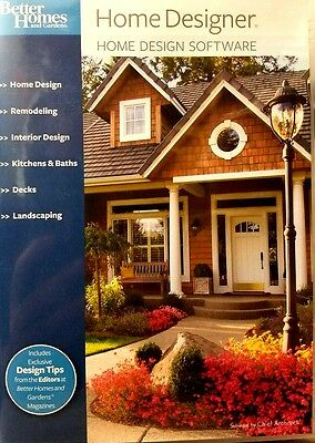 Home Designer Software By Chief Architect Suite 8.0 For Windows 2 Dvd