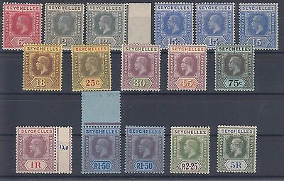 Seychelles- Very Fine Mint Lot Between Sg85-97-Some Mnh !!