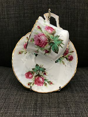 Hammersley Grandmothers Rose Bone China Tea Cup and saucer England